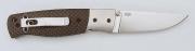 Складной нож EnZo Birk 75B/S30V F/Carbon fiber