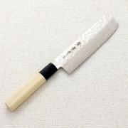 Нож Nakiri Sakai Takayuki 45 layer VG10 Damascus 160мм