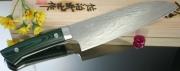 Нож Santoku Saji VG-10 Damascus Series 180мм