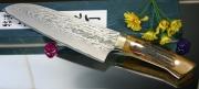 Нож Santoku Saji VG-10 Damascus Series Type2 180мм