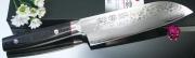 Нож Santoku Kanetsugu Saiun Damascus 170мм