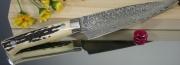 Нож Petty Saji R-2 Damascus Series 135мм