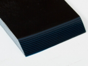 Накладки из G-10 Black/Blue, 6.5мм
