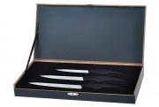 Набор из трех керамических ножей 100мм, 130мм, 155мм