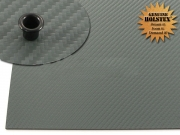 Holstex карбон серо-зеленый 2.0мм, 302х302мм