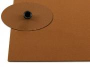 Кайдекс коричневый 1.52мм, 302х302мм