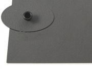 Кайдекс оружейный серый 2.36мм, 302х302мм