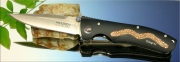 Складной нож Mcusta Brown Stingray