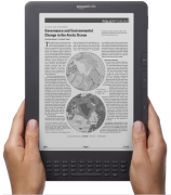 Amazon Kindle DX Graphite (3-е поколение), бесплатный 3G