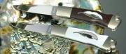 """Складной нож Moki """"Leaf, Iron Wood"""""""