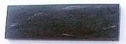 Рог бизона черный, накладка 125x38x8мм