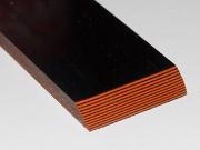 Накладки из G-10 Black/Orange, 6.5мм