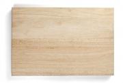 Доска разделочная из каучукового дерева 400х300х40мм